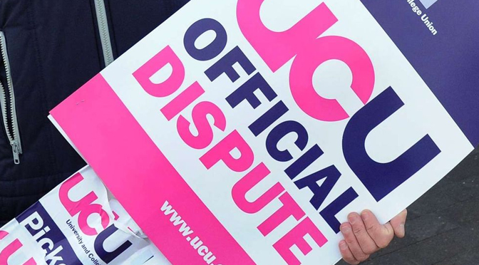 UCU confirms two-day strike at UK universities in May