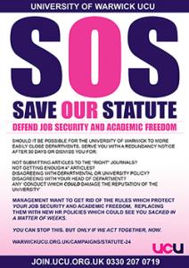 SOS Poster / Leaflet (front)