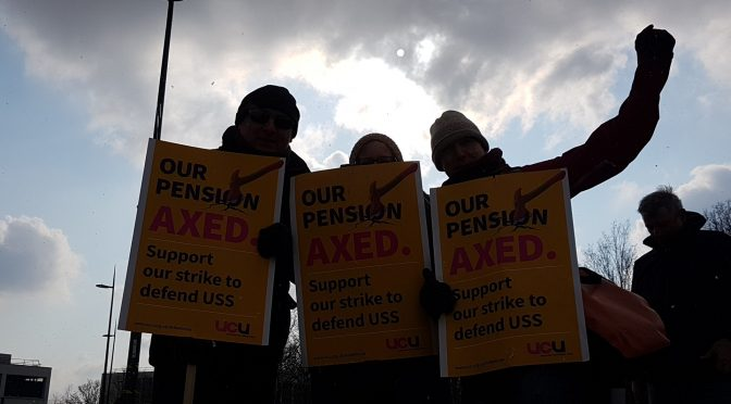 Day 5 Strike for Pensions