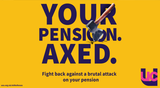 Visit the Pensions page for FAQs, info for students and updates as we get them