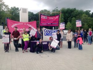 Warwick University Picket Line May 2016